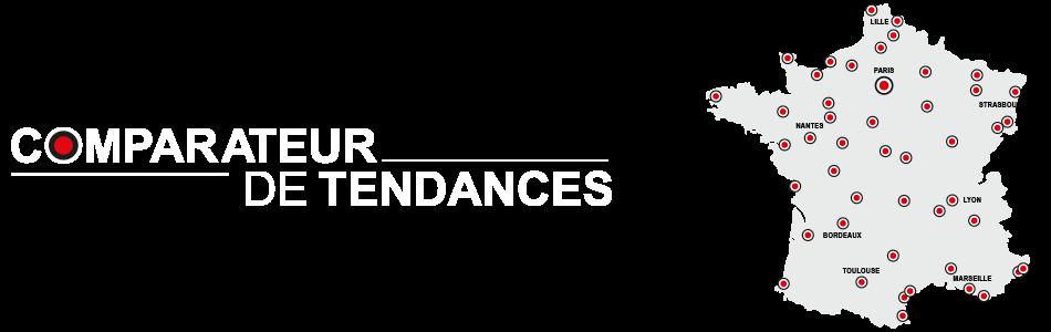 comparateur de tendances logo illustrations