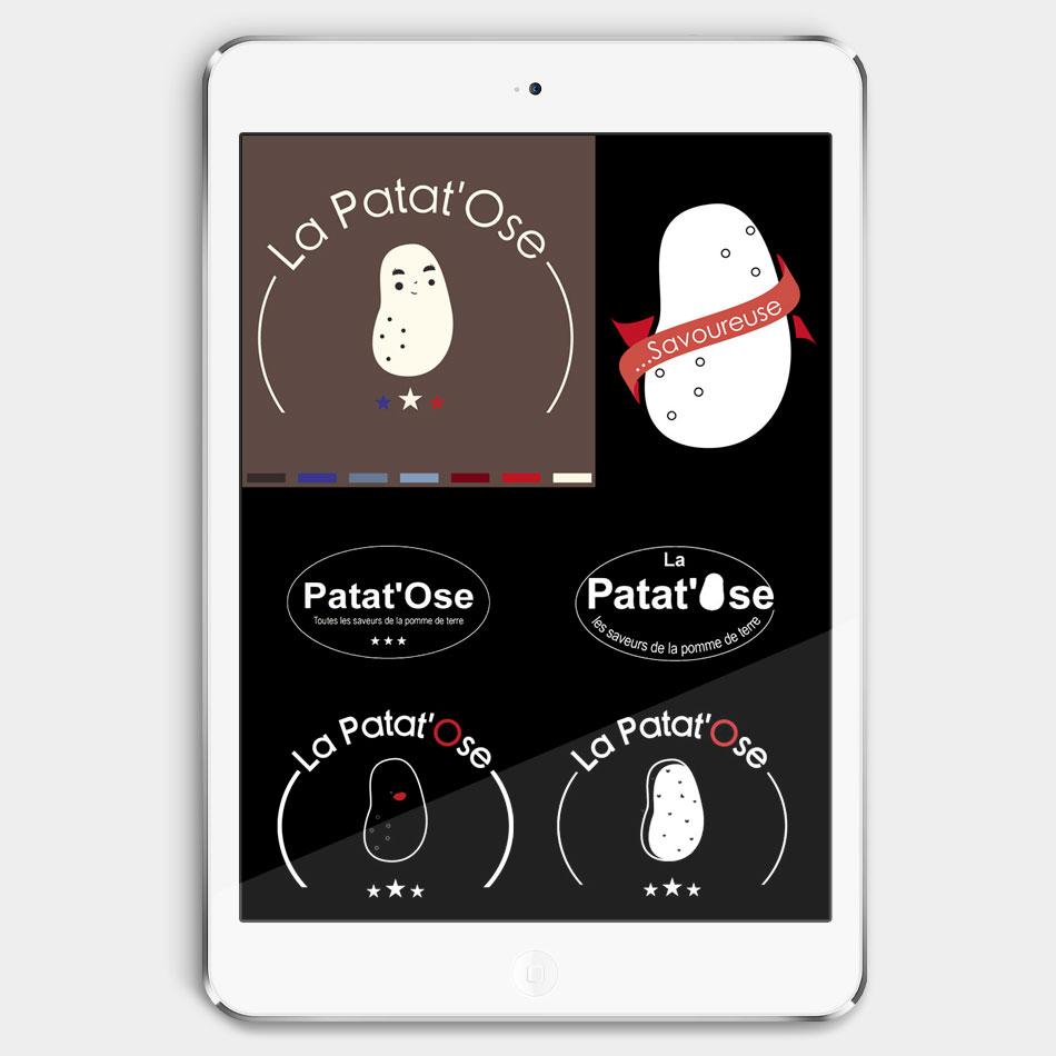 Patat'ose recherche logo