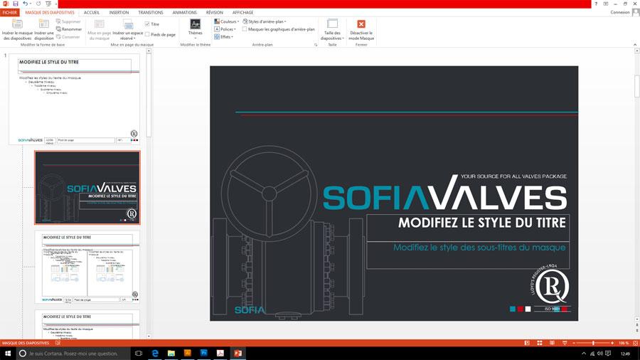 SofiaValves powerpoint